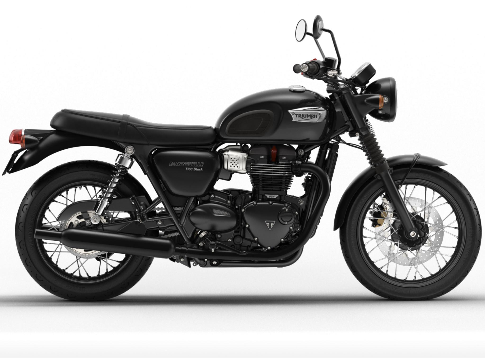 Triumph Bonneville T 120 Black